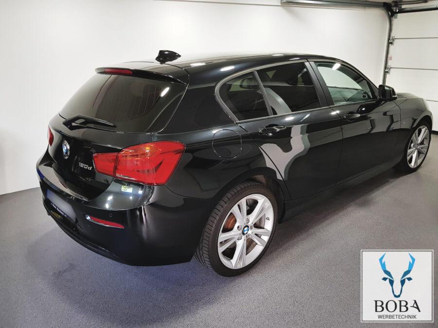 Scheibentönung BMW 1er - 20% Schwarz mittel