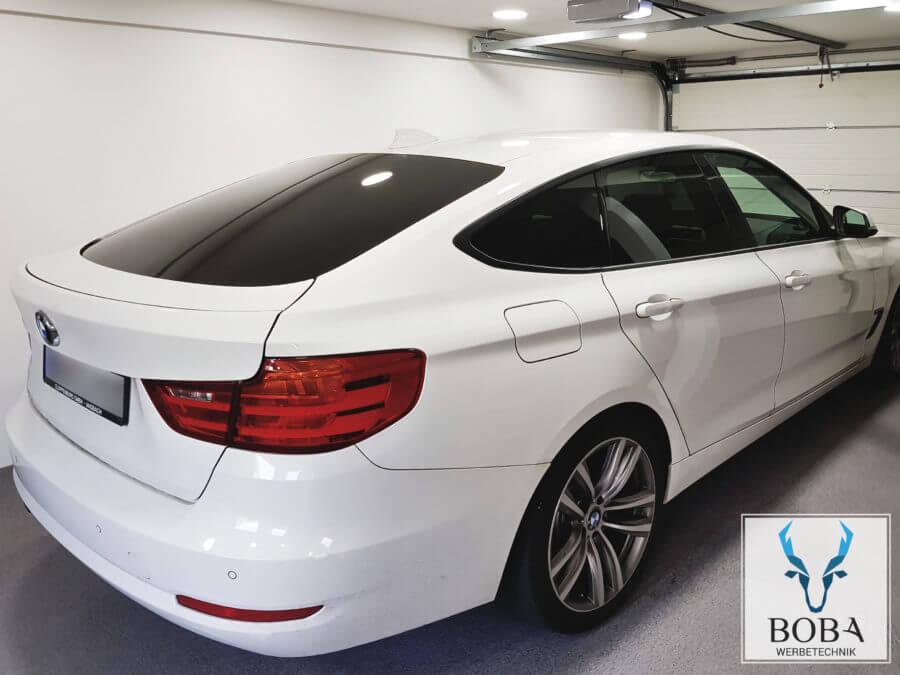 Scheibentönung BMW 3er GT - 5% Schwarz dunkel