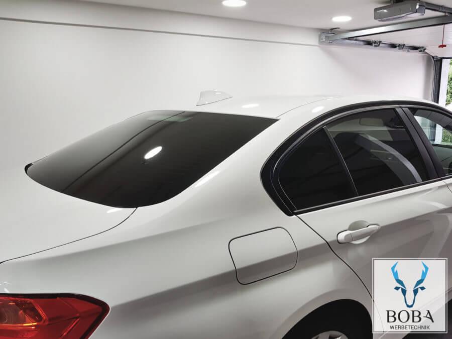 Scheibentönung BMW 3er Limo - 5% Schwarz dunkel