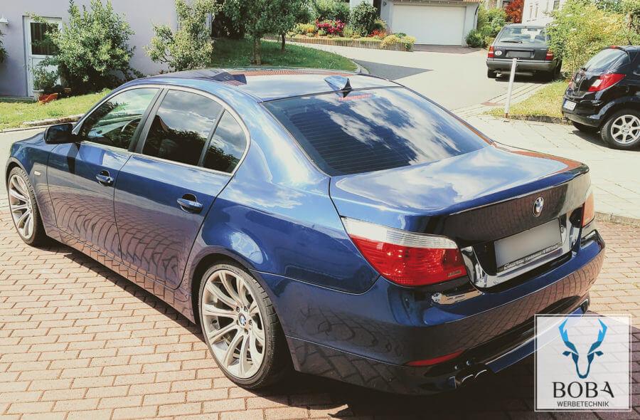 Scheibentönung BMW 5er - 5% Schwarz dunkel