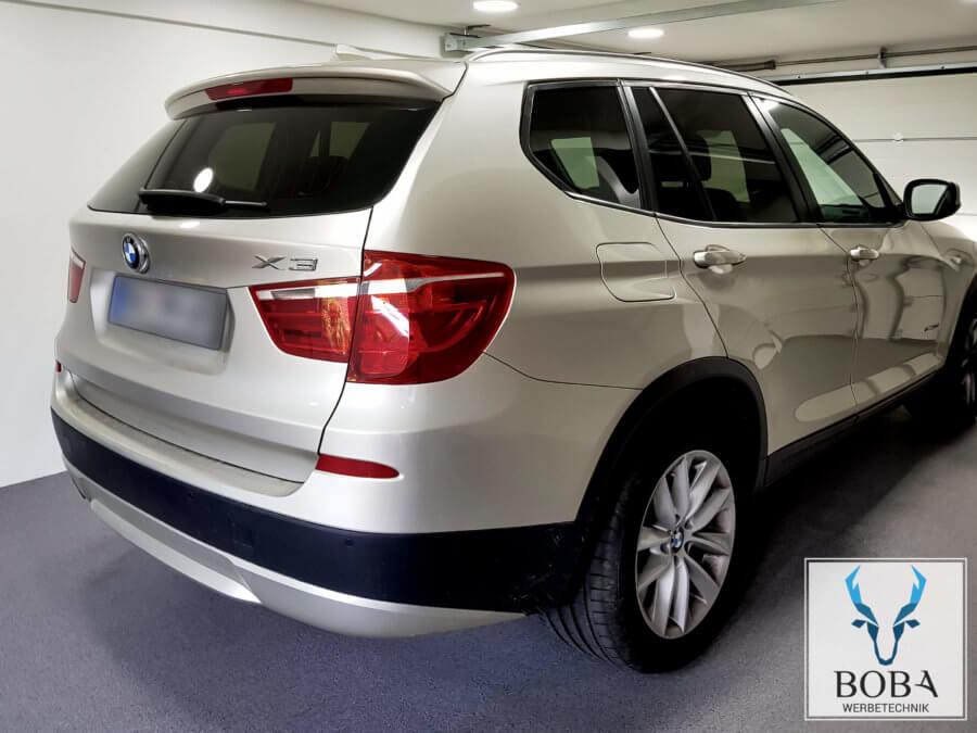 BMW X3 20% Schwarz mittel