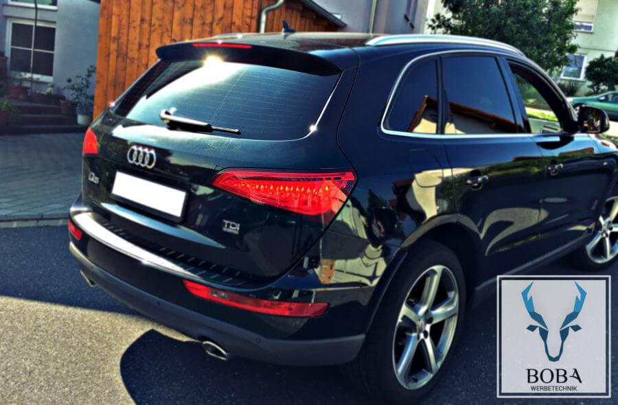 Scheibentönung Audi Q5 - 5% Schwarz dunkel