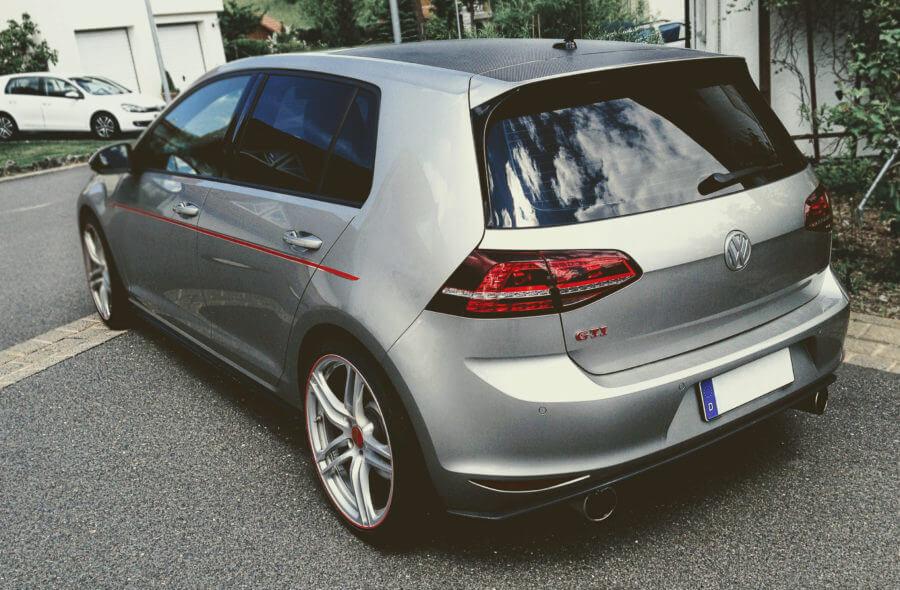 VW Golf 7 Banner