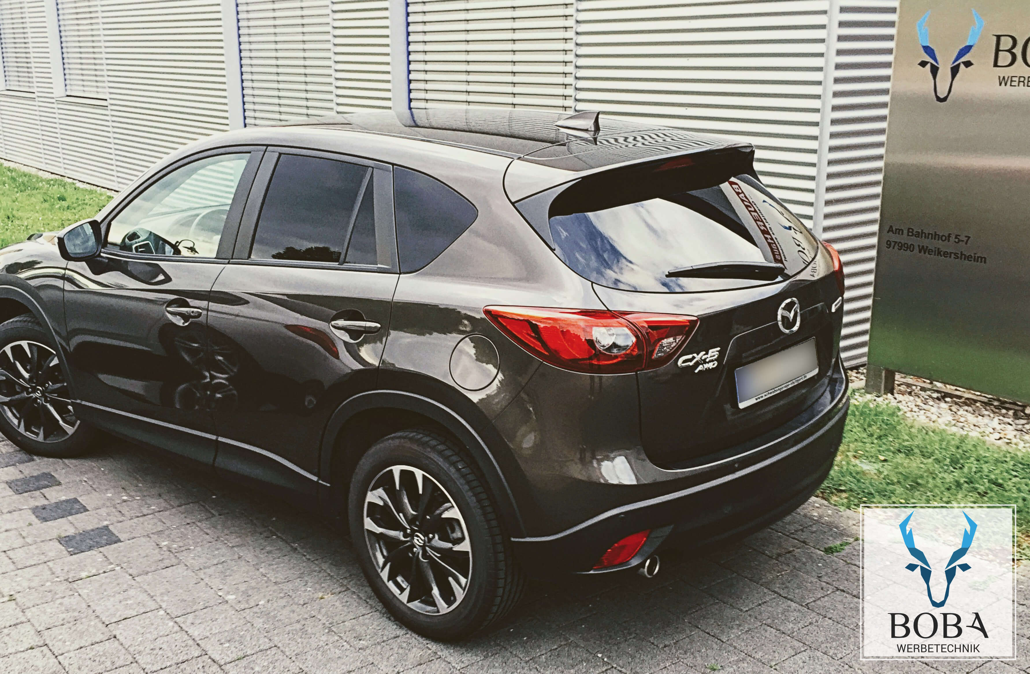 mazda cx5 boba werbetechnik. Black Bedroom Furniture Sets. Home Design Ideas