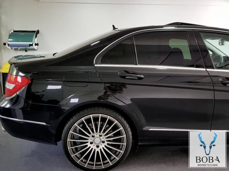 Mercedes C-Klasse Limo 5% Schwarz dunkel