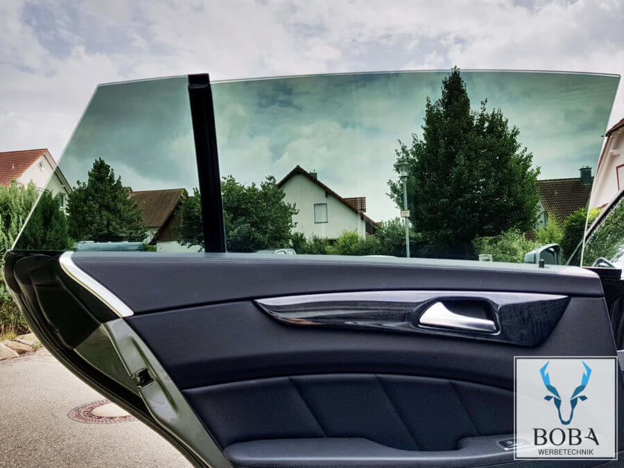 Mercedes-CLS 20% Schwarz mittel