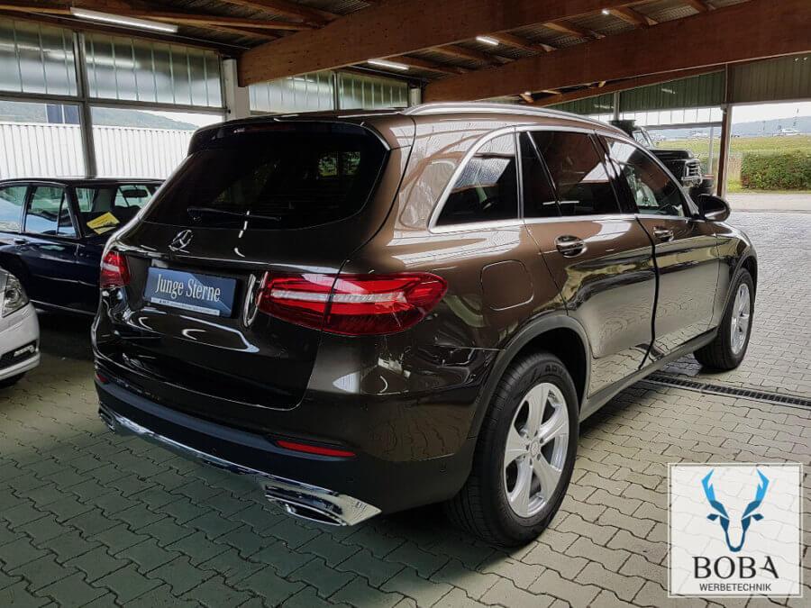 Mercedes GLC SUV 20% Schwarz mittel